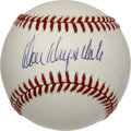 Autographs:Baseballs, Don Drysdale Single Signed Baseball. The explosive sidearmfireballer Don Drysdale defined the concept of power pitcher dur...