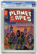 Magazines:Science-Fiction, Planet of the Apes #1 Don Rosa Collection pedigree (Marvel, 1974)CGC NM 9.4 Off-white to white pages....