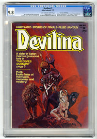 Devilina #1 Don Rosa Collection pedigree (Atlas-Seaboard, 1975) CGC NM/MT 9.8 Off-white to white pages
