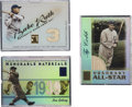 Baseball Cards:Lots, 2001-2003 Topps Baseball Inserts (Cobb, Gehrig and Ruth) Collection(3). Three highly desirable inserts from recent Topps ba...