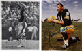 Football Collectibles:Others, Archie Manning and Jim Taylor Signed Photographs Lot of 2. Two legends of the game have each afforded us the chance to own ...
