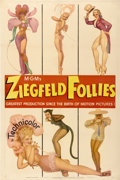 "Movie Posters:Musical, Ziegfeld Follies (MGM, 1945). One Sheet (27"" X 41"") Style D...."