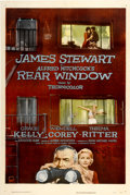 "Movie Posters:Hitchcock, Rear Window (Paramount, 1954). One Sheet (27"" X 41"")...."