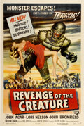 "Movie Posters:Science Fiction, Revenge of the Creature (Universal International, 1955). One Sheet(27"" X 41"")...."