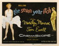 """Movie Posters:Comedy, The Seven Year Itch (20th Century Fox, 1955). Title Lobby Card (11""""X 14"""")...."""