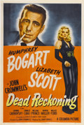 "Movie Posters:Film Noir, Dead Reckoning (Columbia, 1947). One Sheet (27"" X 41"") Style A...."