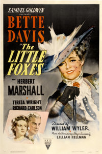 """The Little Foxes (RKO, 1941). One Sheet (27"""" X 41"""")"""