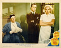 "Movie Posters:Film Noir, The Postman Always Rings Twice (MGM, 1946). Lobby Card (11"" X14"")...."
