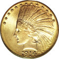 Indian Eagles, 1914-D $10 MS65 PCGS....