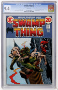 Bronze Age (1970-1979):Horror, Swamp Thing #2 (DC, 1973) CGC NM 9.4 White pages....
