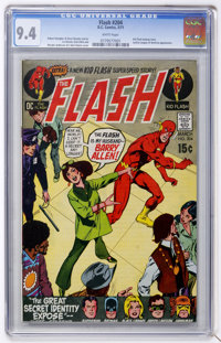 The Flash #204 (DC, 1971) CGC NM 9.4 White pages
