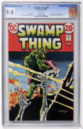 Bronze Age (1970-1979):Horror, Swamp Thing #3 (DC, 1973) CGC NM 9.4 White pages....