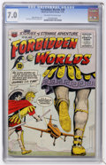 Golden Age (1938-1955):Science Fiction, Forbidden Worlds #38 (ACG, 1955) CGC FN/VF 7.0 Off-white to whitepages....