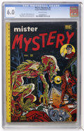 Golden Age (1938-1955):Horror, Mister Mystery #2 (Aragon Magazines, Inc., 1951) CGC FN 6.0Off-white pages....