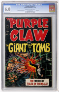 Golden Age (1938-1955):Horror, Purple Claw #3 (Minoan Publishing, 1953) CGC FN 6.0 Cream tooff-white pages....
