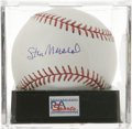 Autographs:Baseballs, Stan Musial Single Signed Baseball, PSA Gem Mint 10. Gem Mintexample of Stan the Man's single signed orb. Ball has been e...