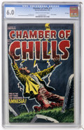 Golden Age (1938-1955):Horror, Chamber of Chills #17 File Copy (Harvey, 1953) CGC FN 6.0 Cream tooff-white pages....