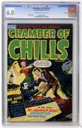 Golden Age (1938-1955):Horror, Chamber of Chills #5 File Copy (Harvey, 1952) CGC FN 6.0 Cream tooff-white pages....