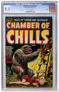 Golden Age (1938-1955):Horror, Chamber of Chills #14 File Copy (Harvey, 1952) CGC VF+ 8.5 Cream tooff-white pages....