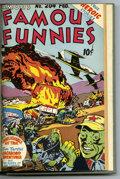 Golden Age (1938-1955):Miscellaneous, Famous Funnies #193-204 Bound Volume (Eastern Color, 1951-53)....