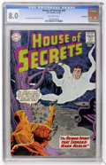 Silver Age (1956-1969):Mystery, House of Secrets #59 Bethlehem pedigree (DC, 1963) CGC VF 8.0Off-white pages....