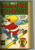 Golden Age (1938-1955):Miscellaneous, Famous Funnies #169-180 Bound Volume (Eastern Color, 1948-49)....