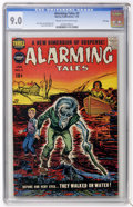 Golden Age (1938-1955):Horror, Alarming Tales #3 File Copy (Harvey, 1958) CGC VF/NM 9.0 Cream tooff-white pages....