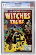 Golden Age (1938-1955):Horror, Witches Tales #26 Bethlehem pedigree (Harvey, 1954) CGC VF 8.0Off-white to white pages....