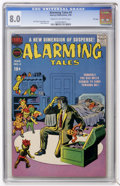 Silver Age (1956-1969):Horror, Alarming Tales #4 File Copy (Harvey, 1958) CGC VF 8.0 Cream tooff-white pages....