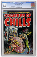 Golden Age (1938-1955):Horror, Chamber of Chills #20 File Copy (Harvey, 1953) CGC VG/FN 5.0 Creamto off-white pages....