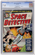 Golden Age (1938-1955):Science Fiction, Space Detective #4 (Avon, 1952) CGC FN/VF 7.0 Cream to off-white pages....