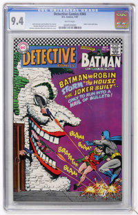Detective Comics #365 (DC, 1967) CGC NM 9.4 White pages