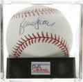 Autographs:Baseballs, Bruce Sutter Single Signed Baseball, PSA Mint+ 9.5. Split-fingerfastballer Bruce Sutter makes this superb sweet spot singl...