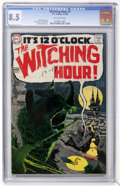 Silver Age (1956-1969):Horror, The Witching Hour #1 (DC, 1969) CGC VF+ 8.5 Off-white pages....