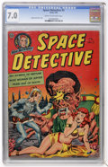 Golden Age (1938-1955):Science Fiction, Space Detective #3 (Avon, 1952) CGC FN/VF 7.0 Cream to off-whitepages....