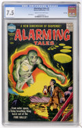 Silver Age (1956-1969):Horror, Alarming Tales #2 File Copy (Harvey, 1957) CGC VF- 7.5 Cream tooff-white pages....