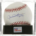 "Autographs:Baseballs, Rollie Fingers ""HOF 92"" Single Signed Baseball, PSA Mint+ 9.5. Themustachioed closer Rollie Fingers has left the sweet spo..."