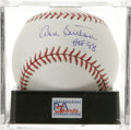 "Autographs:Baseballs, Don Sutton ""HOF 98"" Single Signed Baseball, PSA Mint 9. As far aspitchers go, it seems that 300 wins and 3,000 strikeouts ..."