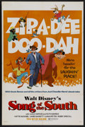 "Movie Posters:Animated, Song of the South (Buena Vista, R-1972). One Sheet (27"" X 41""). Animation/Live Action Disney. Starring James Baskett, Bobby ..."