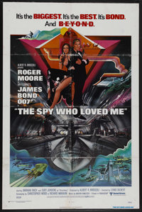 "The Spy Who Loved Me (United Artists, 1977). One Sheet (27"" X 41""). James Bond. Starring Roger Moore, Barbara..."