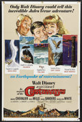 """Movie Posters:Adventure, In Search of the Castaways (Buena Vista, 1962). One Sheet (27"""" X41""""). Disney Live Action/Adventure. Starring Maurice Cheval..."""