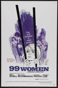 "99 Women (Commonwealth United, 1968). One Sheet (27"" X 41""). Bad Girl. Starring Maria Schell, Mercedes McCambr..."