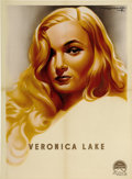 "Movie Posters:Film Noir, Veronica Lake (Paramount, 1944). French Petite (23.5"" X 31.5"")...."