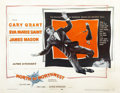"""Movie Posters:Hitchcock, North by Northwest (MGM, 1959). Half Sheet (22"""" X 28"""") Style A...."""