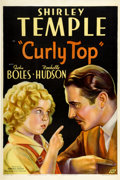"Movie Posters:Musical, Curly Top (Fox, 1935). One Sheet (27"" X 41"")...."