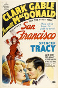 """Movie Posters:Romance, San Francisco (MGM, 1936). One Sheet (27"""" X 41"""") Style C...."""