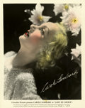 "Movie Posters:Comedy, Carole Lombard in Lady by Choice Color-Glos Publicity Still(Columbia, 1934). Still (8"" X 10"")...."