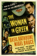 "Movie Posters:Mystery, The Woman in Green (Universal, 1945). One Sheet (27"" X 41"")...."