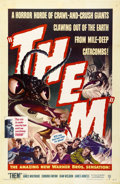 "Movie Posters:Science Fiction, Them! (Warner Brothers, 1954). One Sheet (27"" X 41"")...."