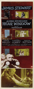 "Movie Posters:Hitchcock, Rear Window (Paramount, 1954). Insert (14"" X 36"")...."